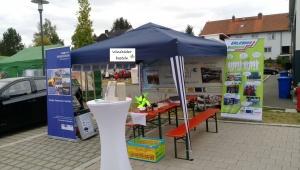 Stand der Energievision beim Familienaktionstag in Leupoldsgrün