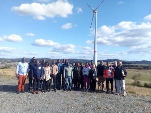 Die Reisegruppe aus Ostafrika im September 2018